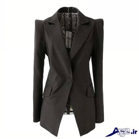 کت بلند تیره زنانه