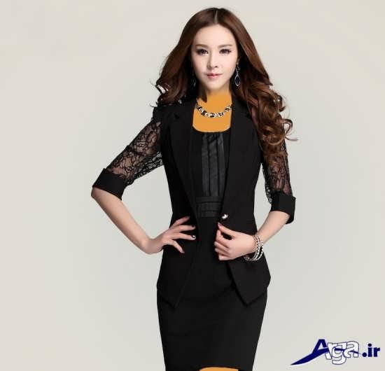 انواع مدل های جذاب کت گیپور زنانه