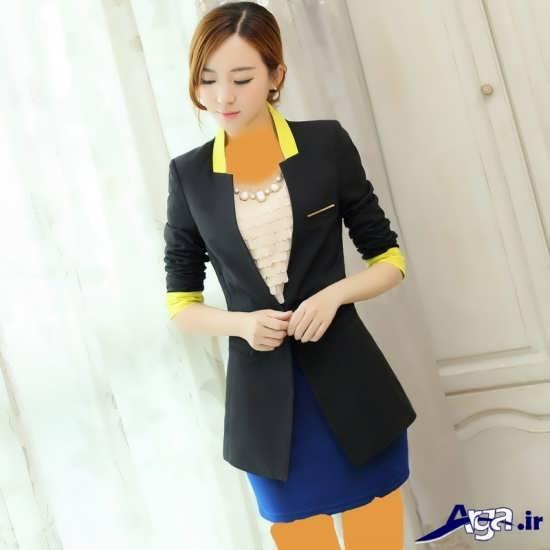 مل کت بلند شیک و مدرن زنانه
