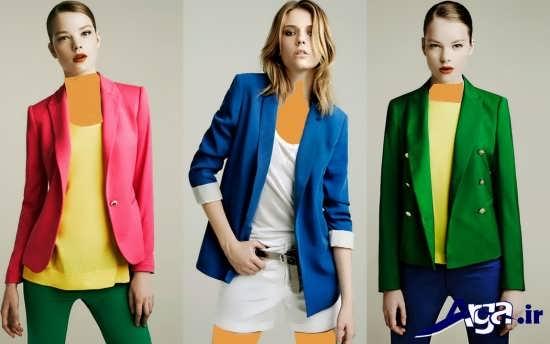 کت زنانه 2016 با انواع طرح های متنوع
