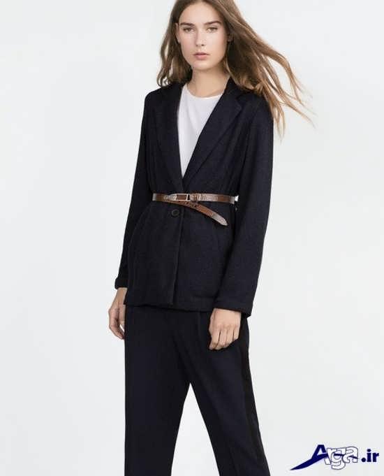 مدل کت بلند زنانه با طراحی مدرن و شیک