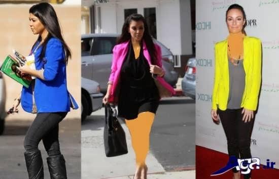 مدل های متنوع کت زنانه