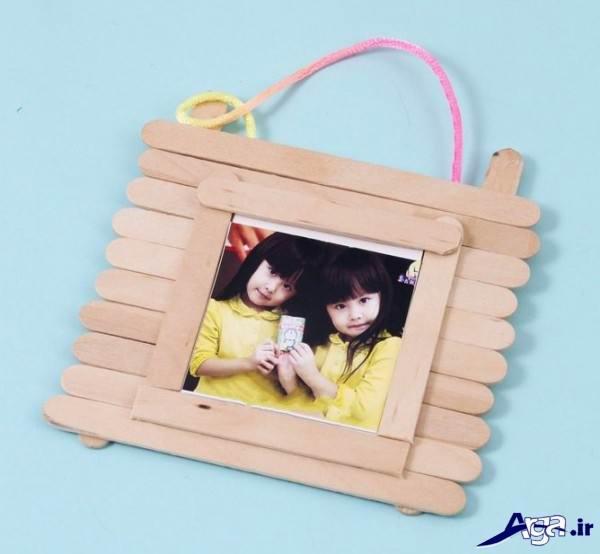 کاردستی کودکانه با چوب