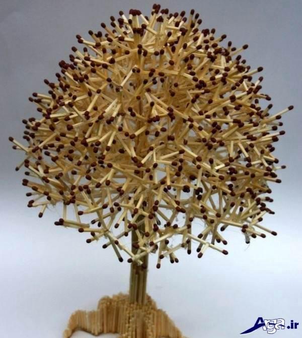 کاردستی زیبا با چوب کبریت