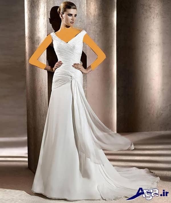 لباس عروس عربی ساده