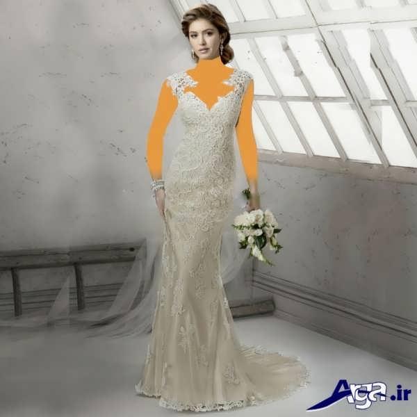 لباس عروس عربی گیپور