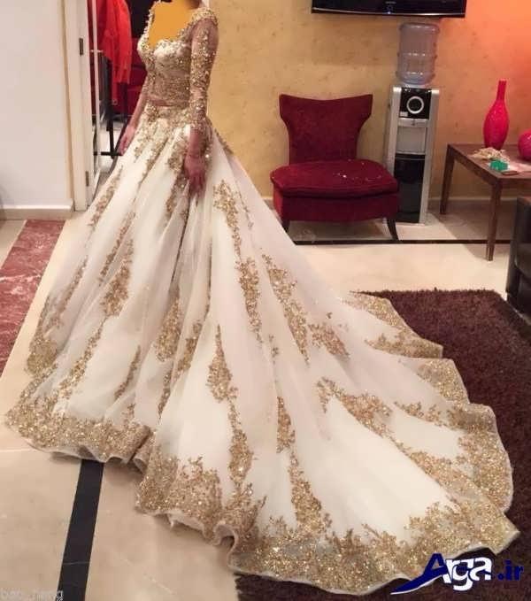 لباس عروس عربی دانتل