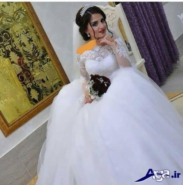 لباس عروس عربی2016