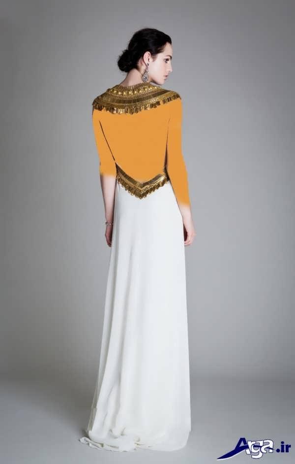 لباس عروس عربی فوق العاده جذاب
