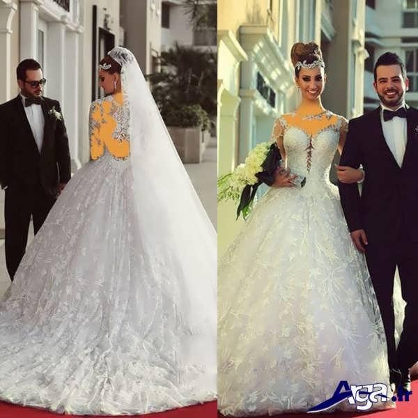 لباس عروس های مدرن عربی