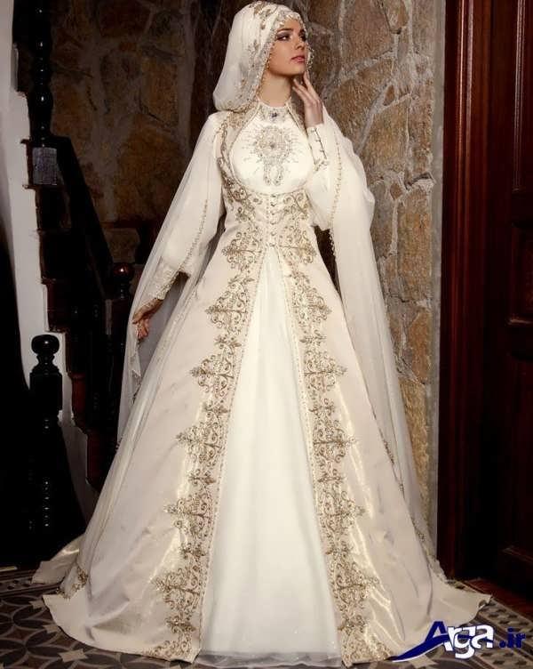 لباس عروس فوق العاده زیبا