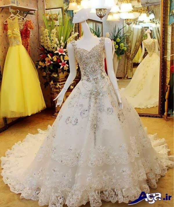 مدل های لباس عروس عربی