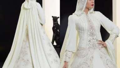 لباس عروس عربی جذاب و مدرن