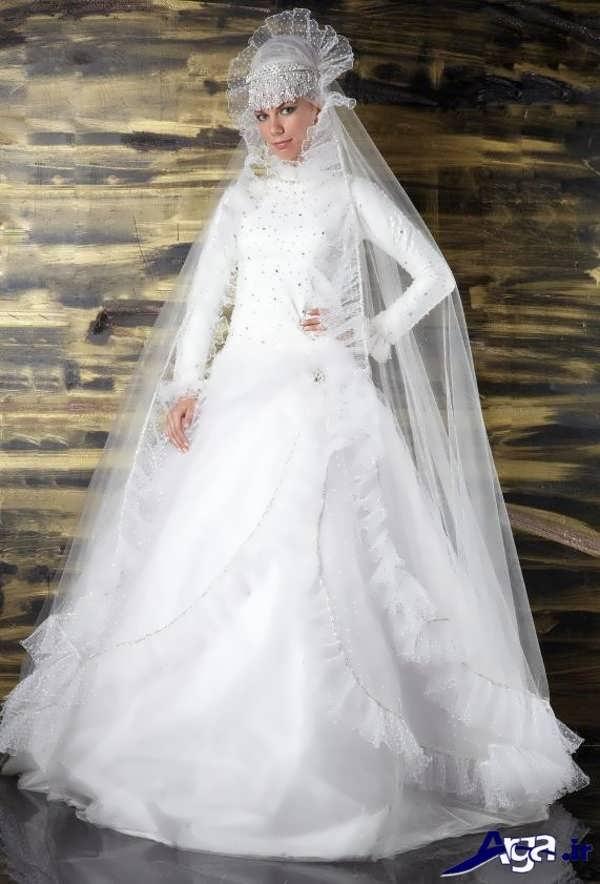 لباس عروس عربی جذاب