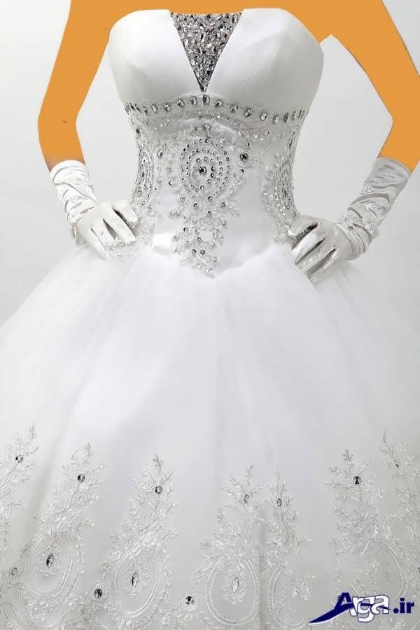 لباس عروس عربی شیک