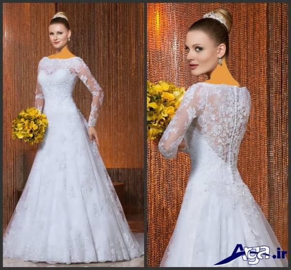 لباس عروس عربی پوشیده