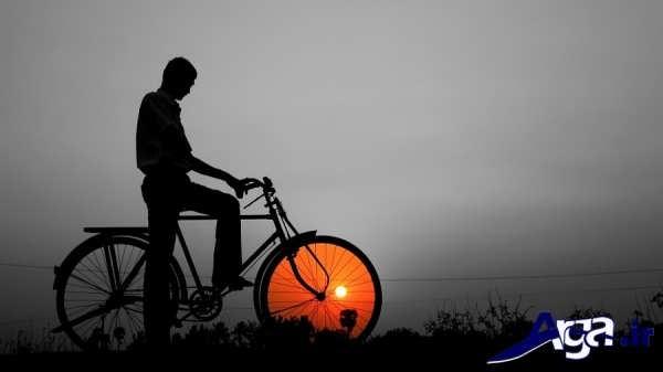 عکس های هنری دوچرخه