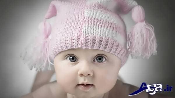 عکس بچه های ناز با کلاه