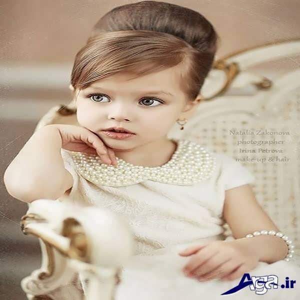 عکس زیباترین دختر بچه