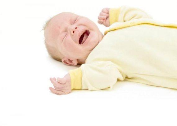 علت دل درد در نوزادان