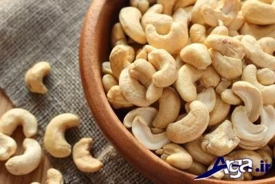ارزش غذایی بادام هندی خام