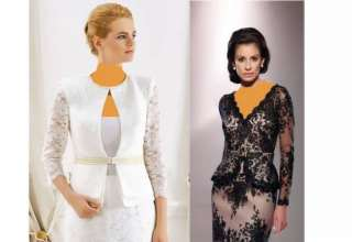 مدل کت و دامن گیپور زیبا