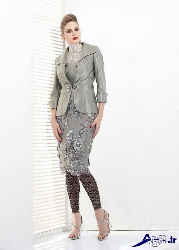 کت و دامن گیپور بسیار زیبا