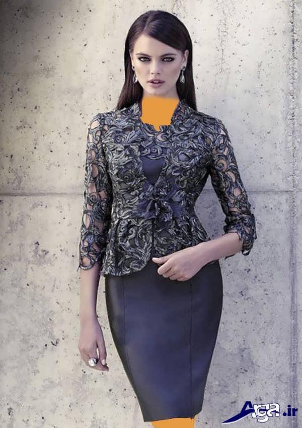 مدل لباس مجلسی دخترانه پیراهن بلند