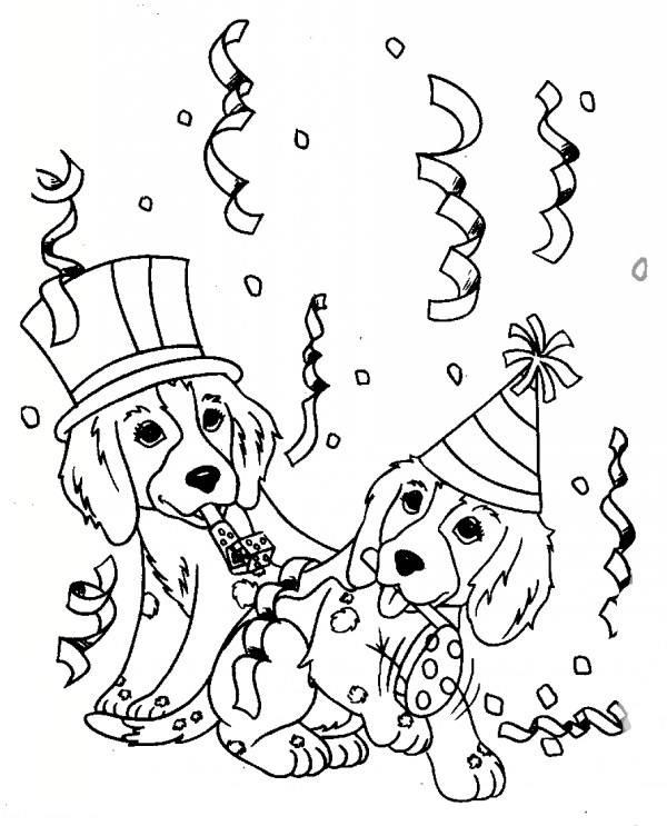 رنگ آمیزی سگ ها برای کودکان