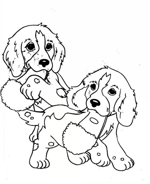 Two Cats Together Coloring Pages