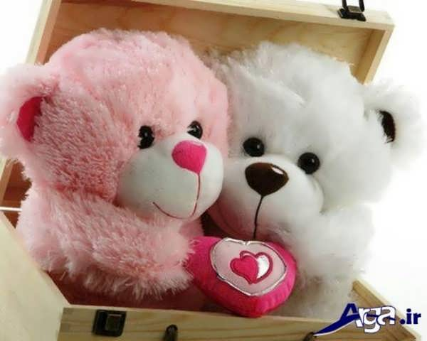 عکس عاشقانه عروسکی جعبه