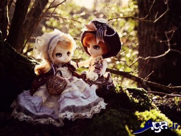 عکس عاشقانه عروسکی جدید