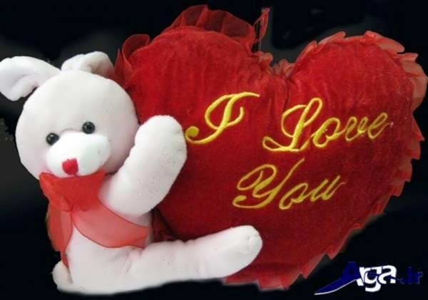 عکس عاشقانه عروسکی قلب