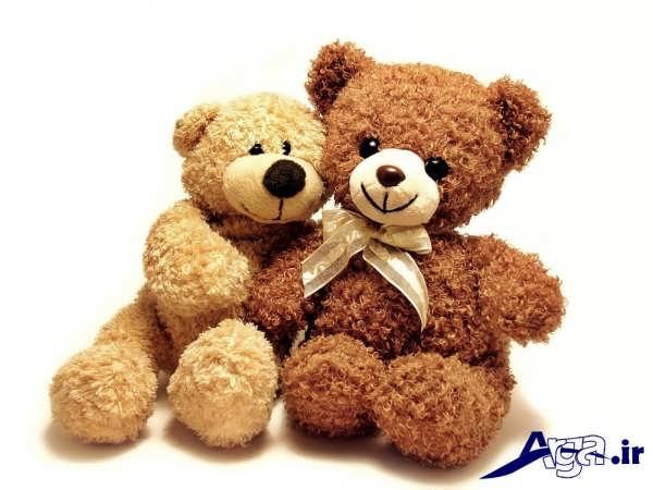 عکس عاشقانه عروسکی خرس