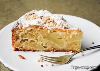 روش پخت کیک سیب