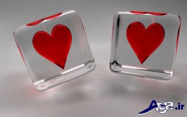 عکس مکعب های فانتزی و قلب