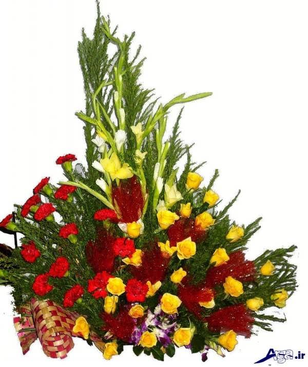 سبد گل زیبا خواستگاری