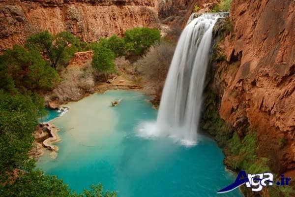 عکس آبشار زیبا