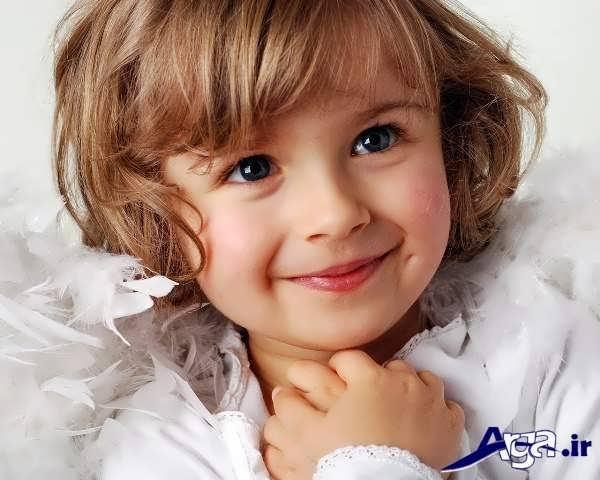 مدل موی بچه گانه دختر نسبتا کوتاه