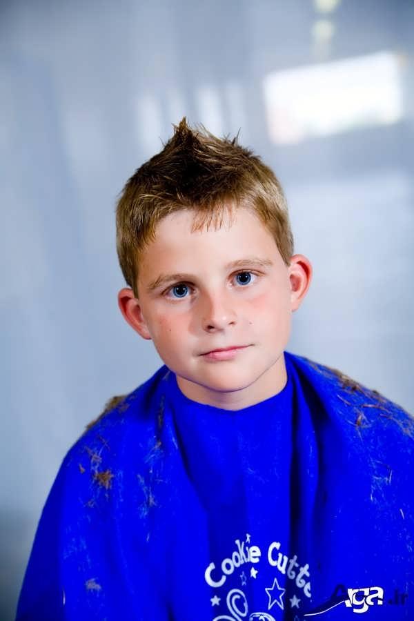 مدل موی بچه گانه پسر جذاب
