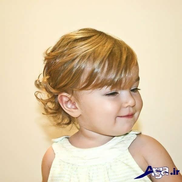 مدل موی بچه گانه دختر خیلی زیبا