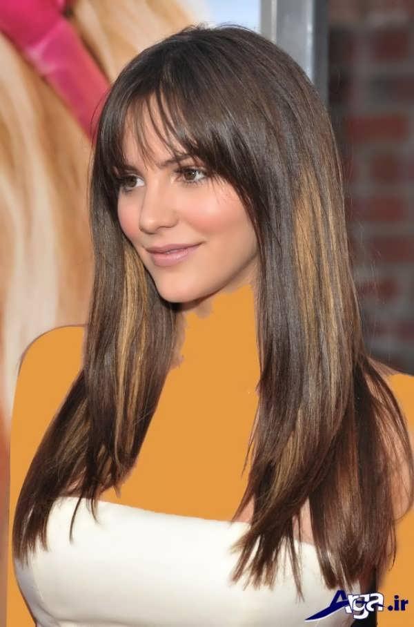 مدل مو برای صورت کشیده مدرن