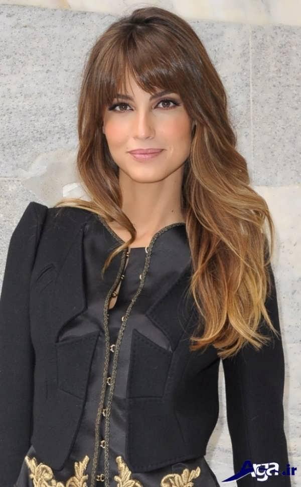 مدل مو برای صورت کشیده جدید و مدرن