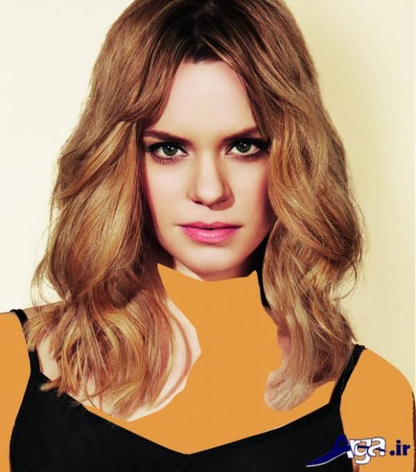 مدل مو برای صورت کشیده مواج