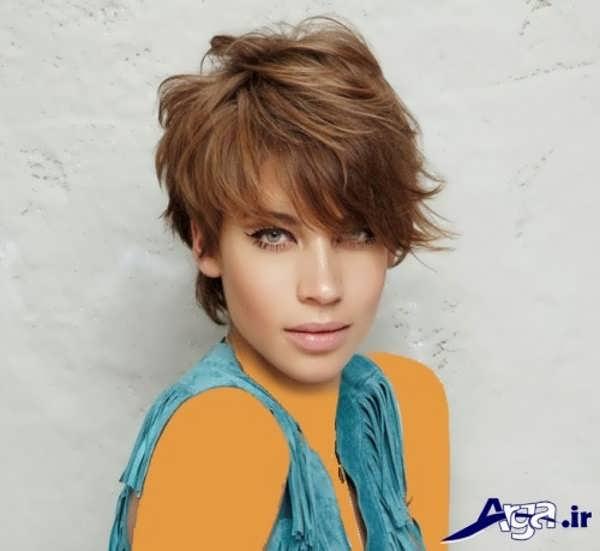 مدل مو برای صورت کشیده کوتاه