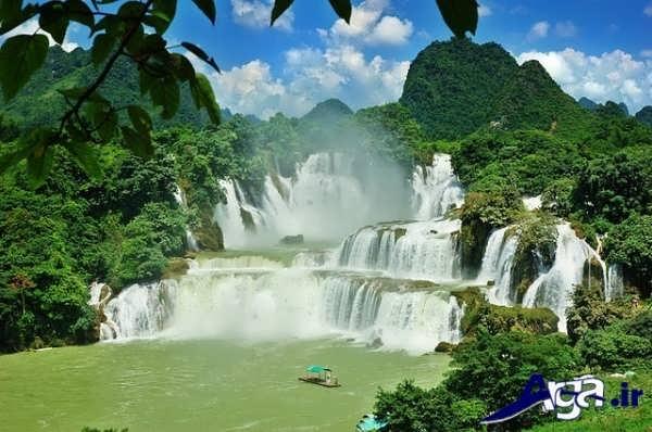 عکس آبشارهای عجیب