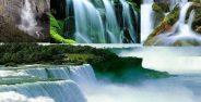 عکس آبشارهای فوق العاده زیبا و جذاب