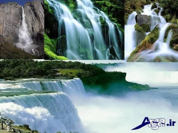 عکس آبشارهای مختلف