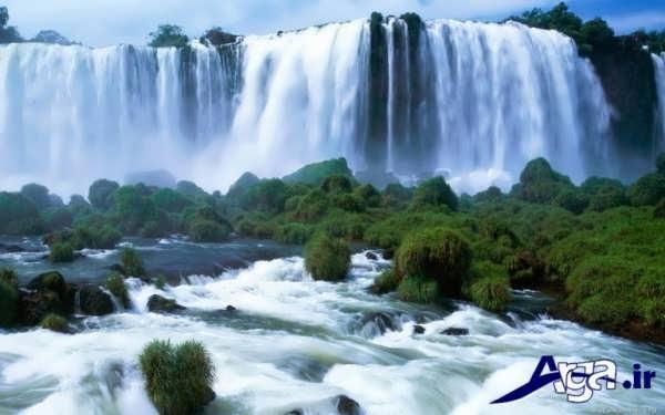 عکس آبشار چشم نواز