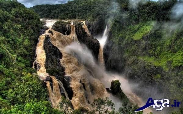 عکس آبشارها